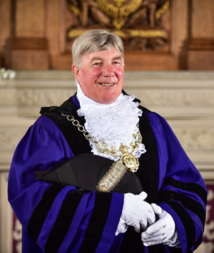 Councillor Stuart Parker Sheriff of Chester