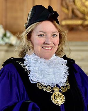 Councillor Gill Watson, Sheriff of Chester