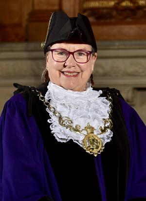 Councillor Jill Houlbrook, Sheriff of Chester